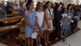 """2016 - """"Santo, Santo é o Senhor"""" - Coro Juvenil de São Pedro do Mar, Quarteira"""