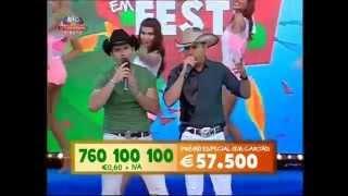 """LEO & LEANDRO """"Ajuda eu"""" no portugal em festa da SIC - Contacto"""