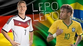 Neymar & Schweinsteiger - Lepo Lepo Dance (Song by Psirico & Pitbull) - World Cup 2014