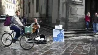 con te partiro chitarrista in Firenze