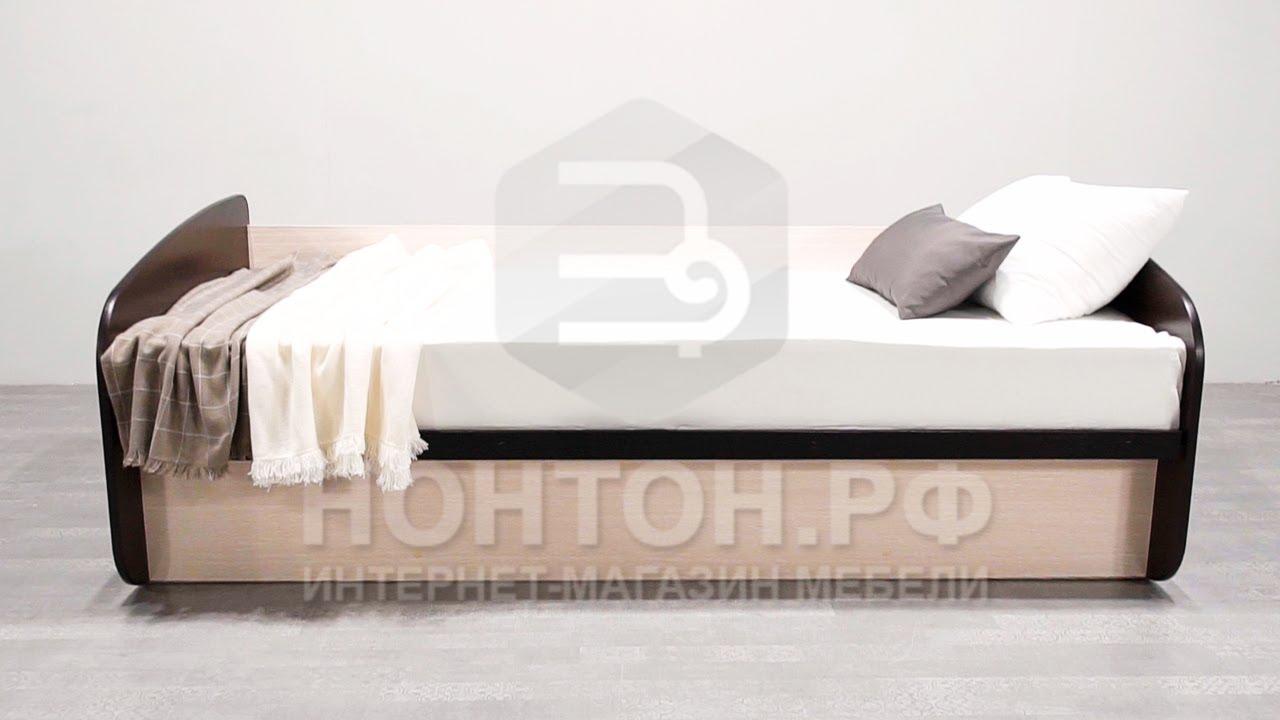 Кровать Лира белый