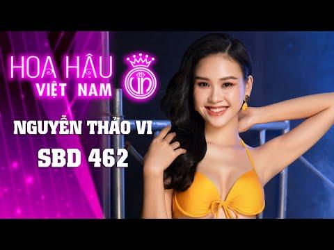 462 NGUYỄN THẢO VI HOA HẬU VIỆT NAM 2020