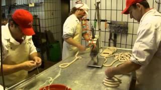 Wurstproduktion Fleischerei Kreuzer, Schenkenfelden