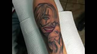 Tattoo Mascaras del teatro riza y el llando