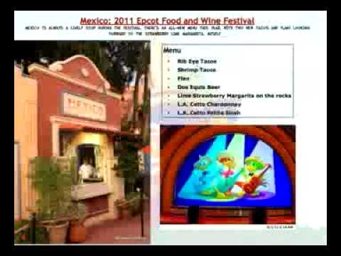 2011 Epcot Food & Wine Festival – Preview!