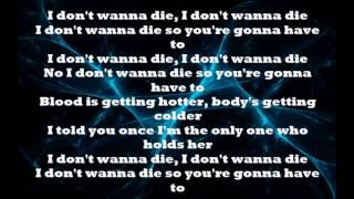 Nightcore - I don't wanna die (  Lyrics )  ( Screen and Description )
