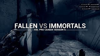Subaru Invitational 2017: FalleN vs Immortals