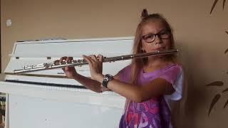 Despacito - Luis Fonsi (Flute Cover  Lena Paszek) - flet poprzeczny