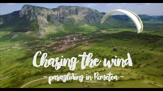 Chasing the wind - paragliding in Rimetea