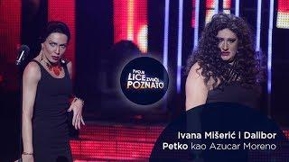 Ivana Mišerić i Dalibor Petko kao Azucar Moreno: Bandido