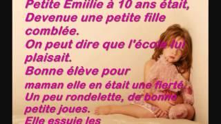 Keen'v - Petite Emilie Paroles