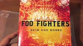 Skin & Bones - Foo Fighters DVD Unboxing