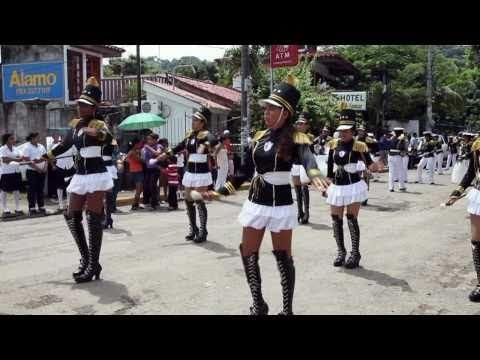 Nicaraguan Independence Parade, San Juan Del Sur