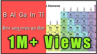 Trick to learn periodic table in hindi best trick to learn periodic table urtaz Images