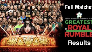 Greatest Royal Rumble full Matches & Highlights 2018 || Saudi Arabia || Full Matches