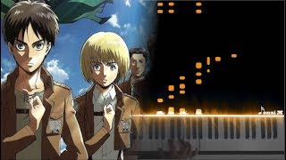 ATTACK ON TITAN OPENING 4 but it's actually SASAGEYO! (and Opening 1)
