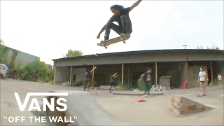 CHRIS PFANNER ON CREATING SOMETHING OUT OF NOTHING | OFF THE WALL | VANS