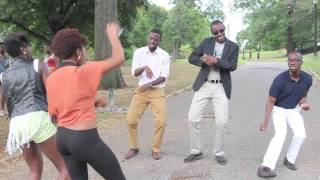 Azonto In Real Life Skit & Dance to Nana NYC - Party Pooper