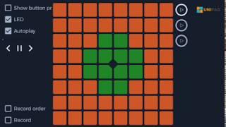 Elektronomia - Sky High UniPad cover [Project File // same as Launchpad...]