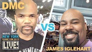 DMC vs. James Iglehart Rap Battle on Marvel LIVE!