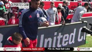 Chicago Fire vs. Real Salt Lake Opening Game MLS 2017