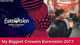 My Biggest Growers | Eurovision 2017 | Celebrate Diversity