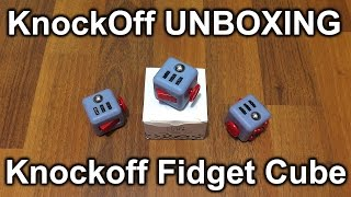 Unbox : KnockOff FidgetCube (Read description before commenting).