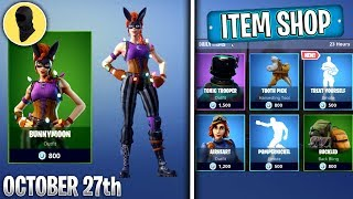 BUNNYMOON IS HERE! (Fortnite NEW SKINS Item Shop) [October 27th] Fortnite Battle Royale