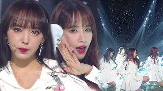 《ADORABLE》 WJSN(우주소녀) - Dreams Come True(꿈꾸는 마음으로) @인기가요 Inkigayo 20180415