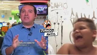 """Gordinho rindo """"Palmeiras será campeão de novo"""""""