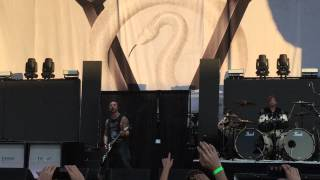 Bullet For My Valentine - Tears Don't Fall (LIVE) Summer's Last Stand Tour, Austin, Texas, 9/2/15