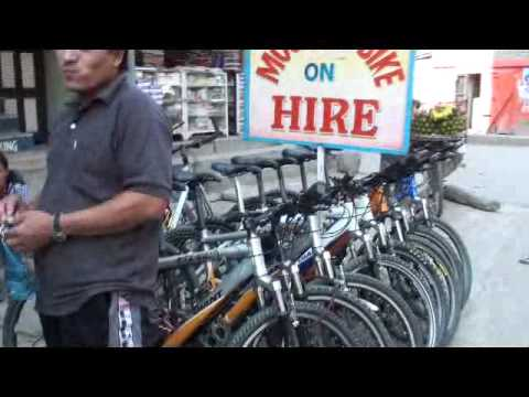 Nepal Adventure ร้านซ่อมรถจักรยานในทาเมล เนปาลnepal byเจโอ๋ 20091023140117