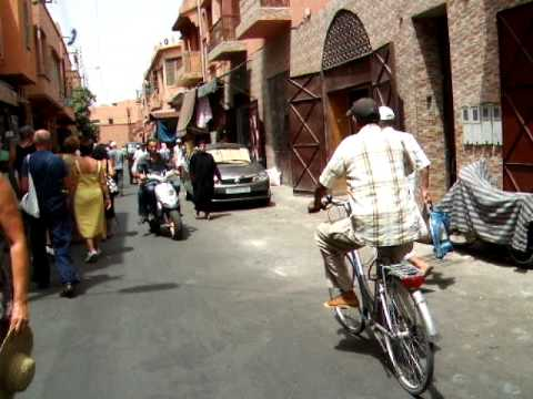 In the streets of Marrakesh