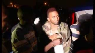 Busy Signal`s battle with Konshens In Uganda.Live