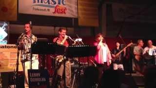 New Brass Express- Wedding Day Polka Feat. Dawn Rosinski.       2013 Summer Music Fest