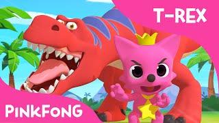 Tyrannosaurus-Rex Dance With PINKFONG | Dinosaur Songs | PINKFONG Songs for Children