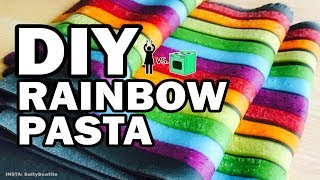 I Tried Tasty's Rainbow Pasta, Corinne VS Cooking width=