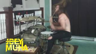 I'm Too Sexy DRUM COVER - JOEY MUHA