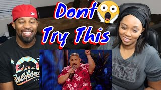 [[ Reaction ]] Gabriel Iglesias - Gift basket