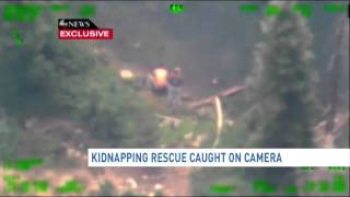 Hannah Anderson kidnapping rescue caught on camera