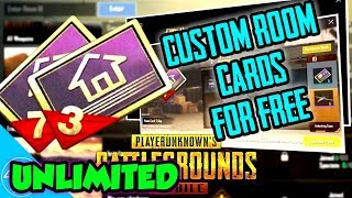 PUBG MOBILE:-How To Get Unlimited Custom Room PASSES For Free:)