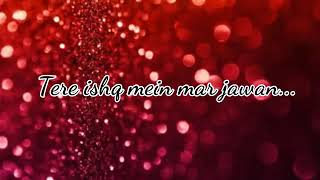 Ishq Mein Marjawan Lyrics