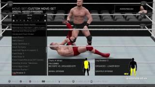 WWE 2K17 presenta la lista de nuevos finishers
