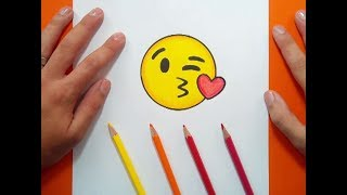Como dibujar un Emoji paso a paso 5 | How to draw an Emoji 5