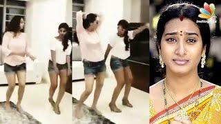 Actress Surekha Vani and her daughter hot dance goes viral || Tamil Cinema News width=