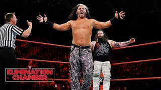 """""""Woken"""" Matt Hardy looks to """"delete"""" Bray Wyatt: WWE Elimination Chamber 2018"""