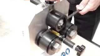 Curvadora de separadores manual
