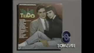 Comercial do LP 'Vale tudo - Internacional' (Comercial curto) (1988)