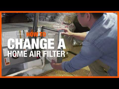 How to Change a Home Air Filter