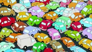 Traffic jam sound effect car horns sounds
